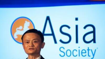Jack Ma, dueño de Alibaba.
