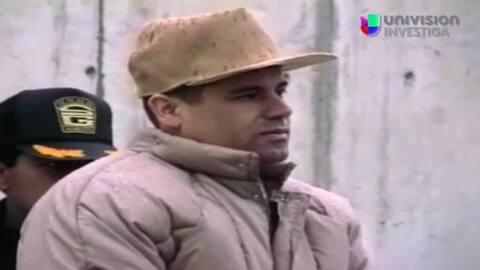 Rueda de prensa de El Chapo en la cárcel