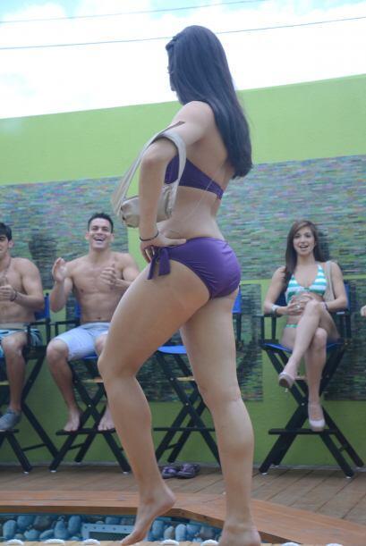 Shanik fue la ganadora de la cola más sexy por los usuarios de Univision...