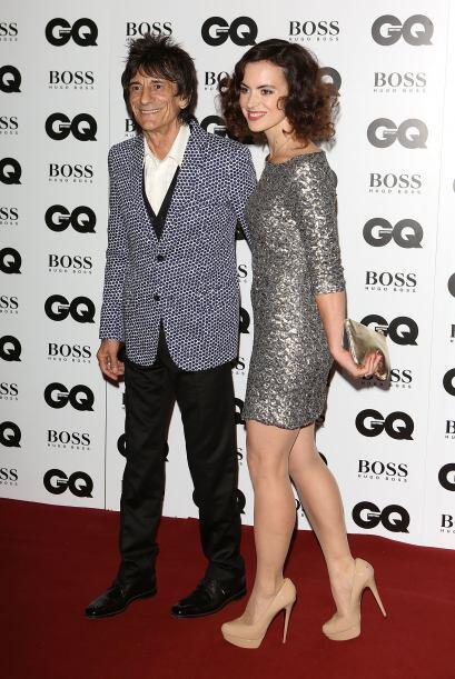 Ronnie Wood y Sally Humphryes no se quedaron con las ganas de brillar en...