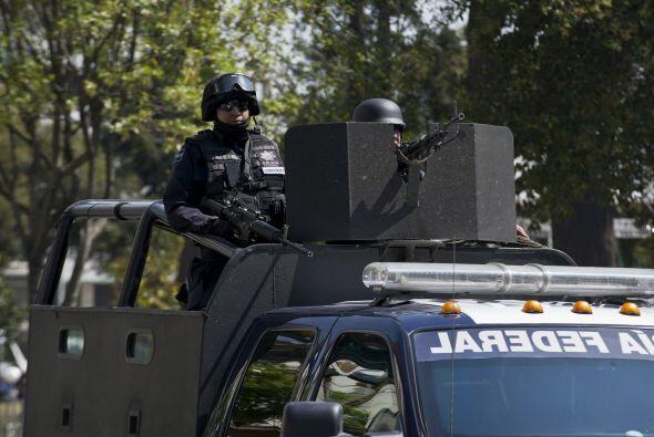 Desde hace unos días cientos de soldados, policías federales y elementos...
