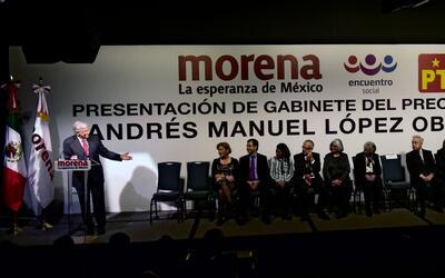 Este sería el gabinete de Andrés Manuel López Obrad...