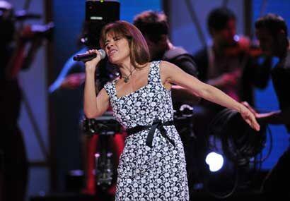 Gloria Trevi promete, como siempre, mucha pasión sobre el escenario.