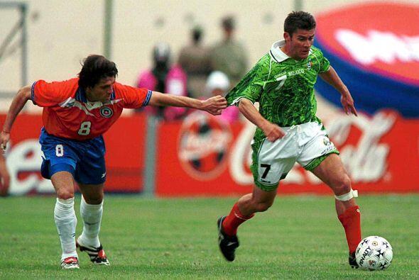 En esa misma edición, México y Chile disputaron el partido por el tercer...