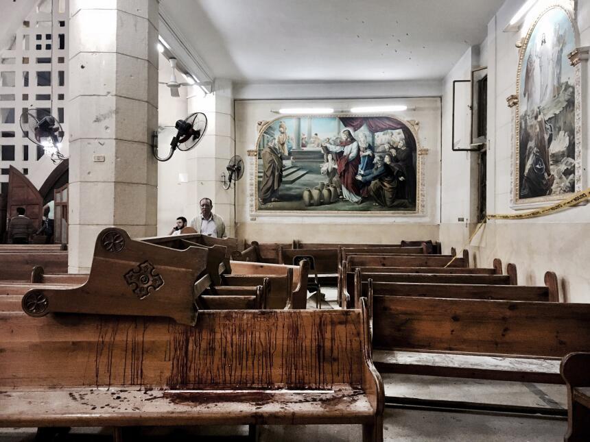 Explosión bomba iglesias