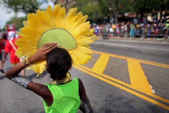 La ruta del carnaval sigue a lo largo de dos kilómetros (1.24 millas).