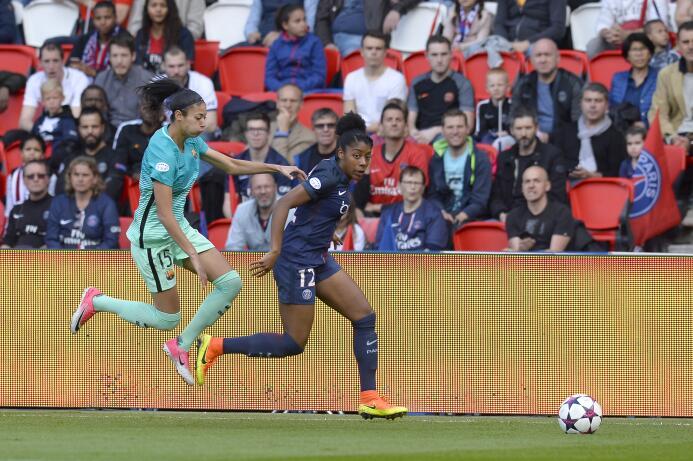 Ashley Lawerence, con solo 4 partidos en esta Champions en el PSG, estar...