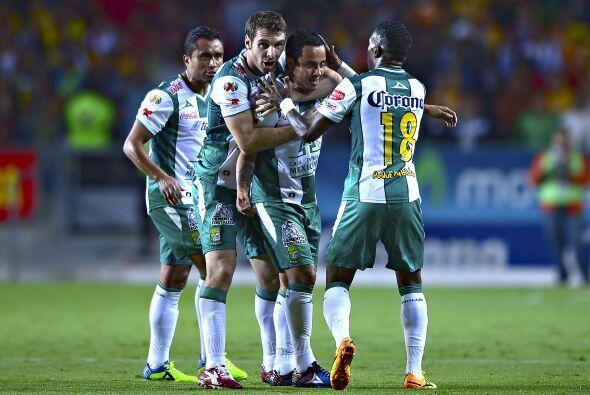 Seis disparos a portería, su gol cayó al minuto 76, Montes fue el encarg...