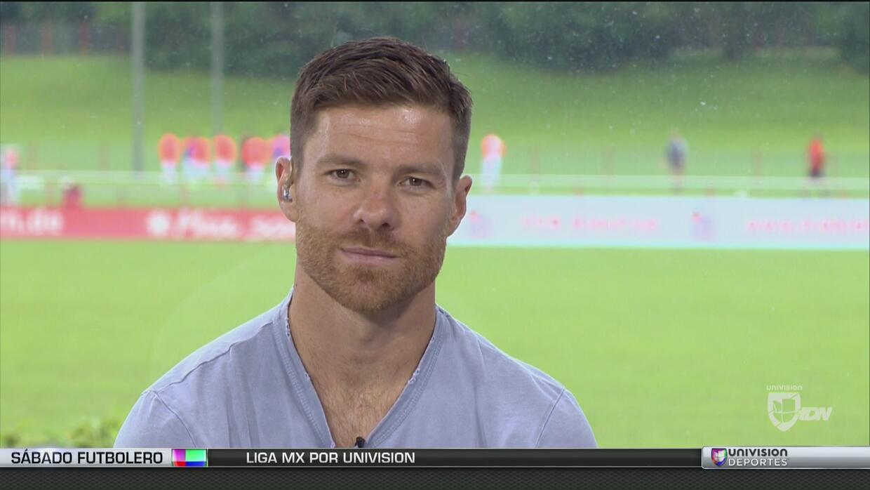 Xabi Alonso: (Chicharito) encaja con el Leverkusen, un especialista para...