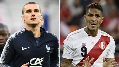 En fotos: Perú ante su compromiso más duro en el Mundial: Francia