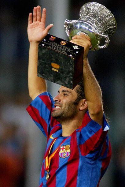 También levantó la Copa UEFA Champions League en el 2005.
