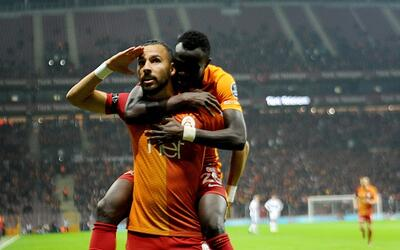 El Galatasaray es rival acérrimo del Besiktas pero eso es lo de m...