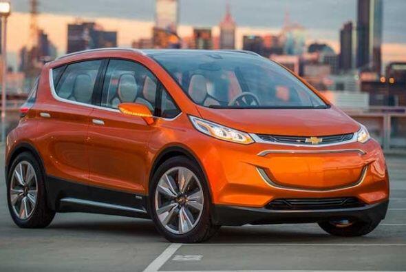 Chevrolet Bolt EV Concept: Se trata de un modelo totalmente eléctrico id...