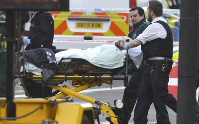 Testigos describen el ataque frente al Parlamento británico