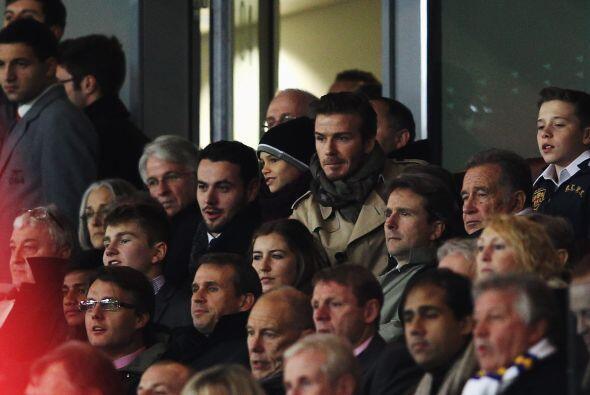 Imagínense que hasta David Beckham estuvo presente en el duelo donde los...