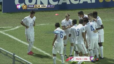 Pierre Da Silva completa la goleada de Estados Unidos a Guatemala en el...