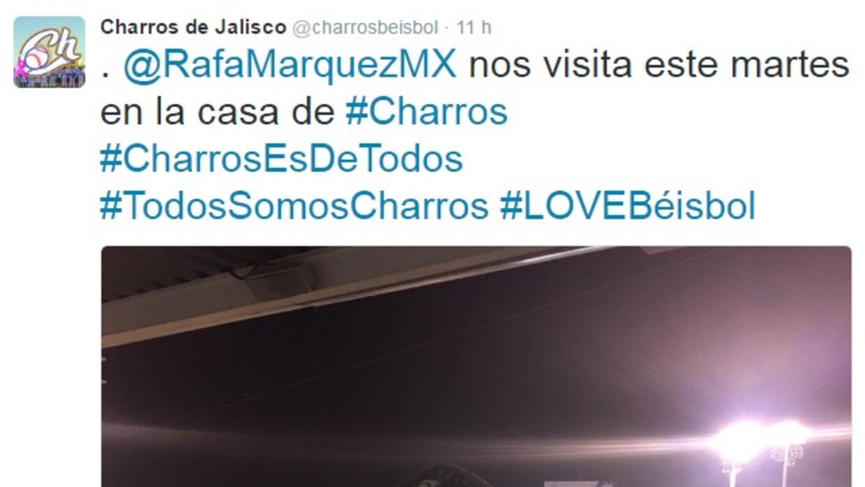 Márquez es Charro