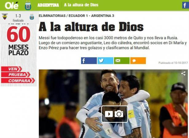 Diario Olé - Digital (Argentina)