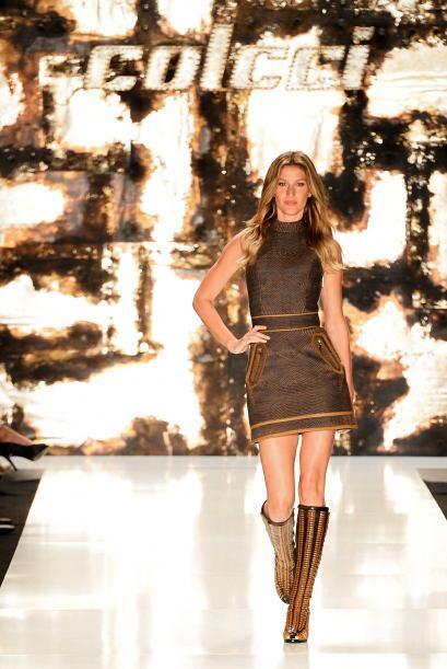 Sus últimas pasarelas fueron durante el Fashion Week de Sao Paulo.