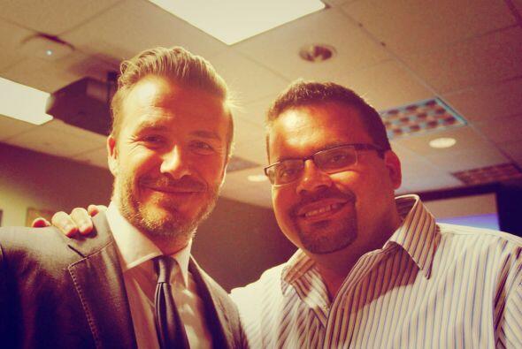 Ismar Santacruz, Vice President, Content Operations, Univision con Beckham