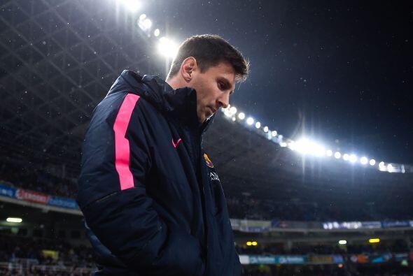 La 'Pulga' contabilizaba 15 goles en 16 jornadas de la Liga española y v...