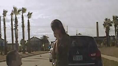 Un oficial de Galveston le hizo creer a su novia que iba a ser arrestada...