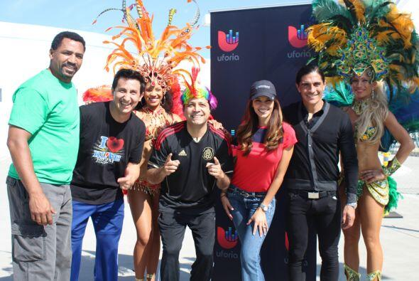 Las leyendas del fútbol, Adrian Chavez y Paco Palencia se enfrentan en u...