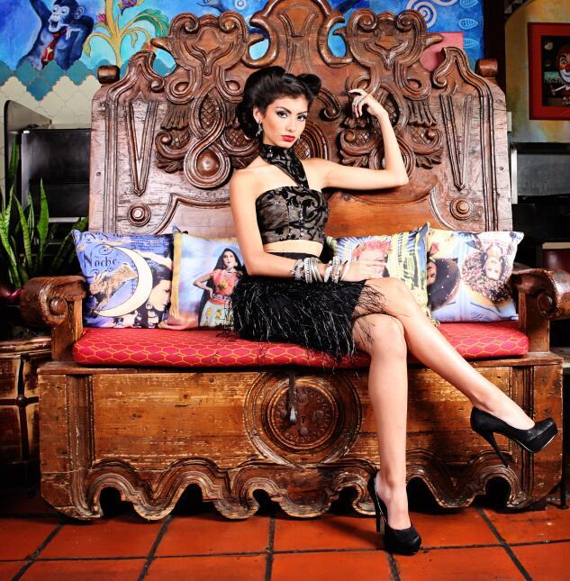 Fotógrafos de la capital texana capturaron la belleza de modelos inspira...