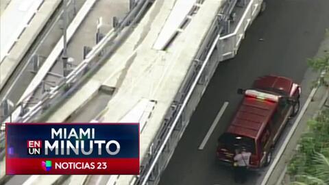 'Miami en un Minuto': incendio daña varios vehículos en el Aeropuerto In...