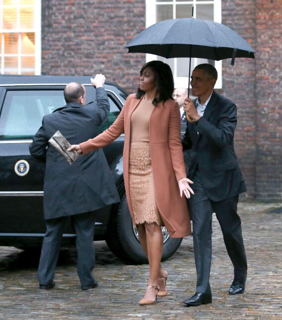 Michelle y Barack Obama: los amantes de la Casa Blanca GettyImages-52327...