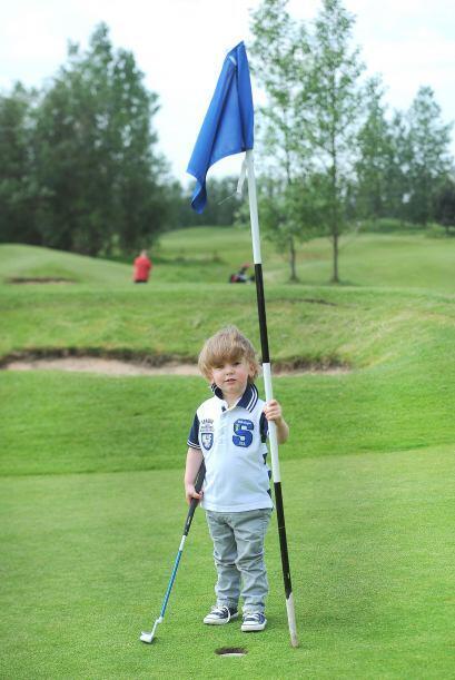 ¡Y claro que su principal héroe es el golfista Tiger Woods!