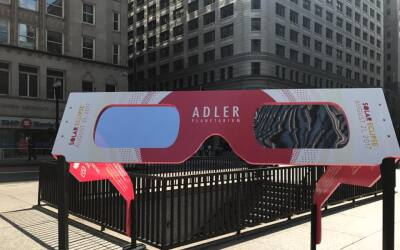 El Planetario Adler de Chicago tendrá un evento especial para ver...