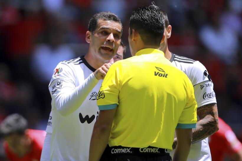 El Departamento del Tesoro de EU colocó a Rafael Márquez e...