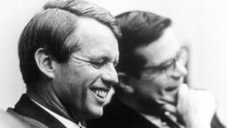 Robert ennedy, hermano del presidente John Kennedy, murió el 6 de junio...