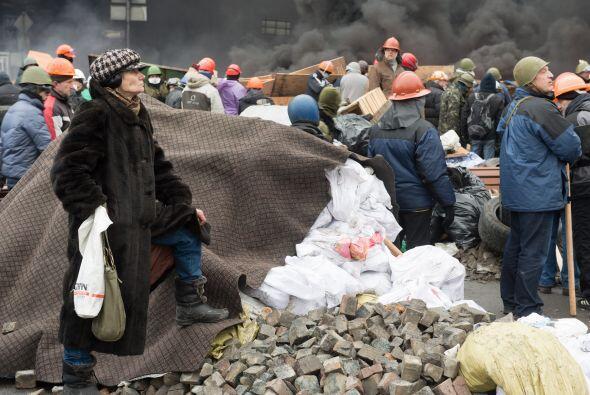 El presidente de Ucrania, Víktor Fédorovich Yanukóv...