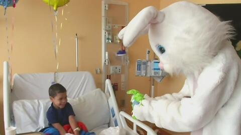 Niños del Hospital Infantil Joe DiMaggio recibieron una grata sorpresa e...