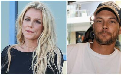 La cantante Britney Spears y su exmarido Kevin Federline