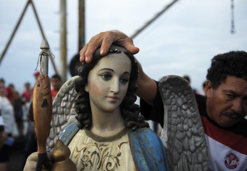 arcángel Rafael procesión