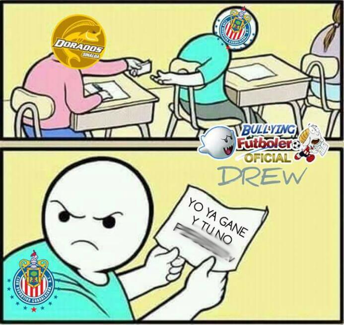 Chivas volvió a ser el Rey de los Memes