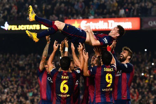 El 22 de noviembre regaló otro festín azulgrana en el Camp Nou donde Leo...