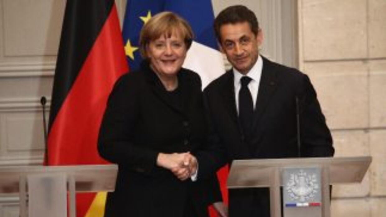 """""""El objetivo que tenemos con la canciller (alemana Angela Merkel) es que..."""