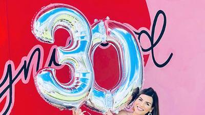 Karina Banda se fue de vacaciones con Carlos Ponce para festejar su cumpleaños