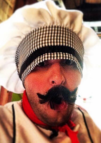 """""""Pasta a la vista baby!!!! #ChefTutti"""", bromeó Paul Stanley. (Octubre 17..."""
