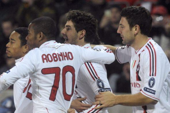 Milan sumaba su segundo festejo y ganaba con claridad.