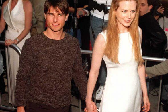 Tom Cruise y Nicole Kidman era una de las parejas más estables en  Holly...