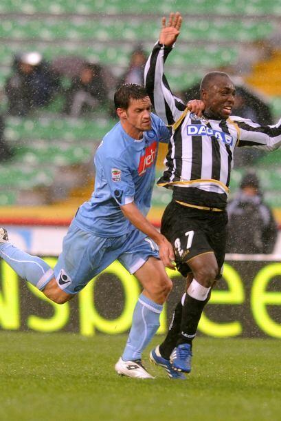 Un duelo que llamaba la atención era el disputado entre Napoli y Udinese.