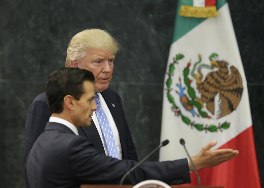 Trump Peña Nieto