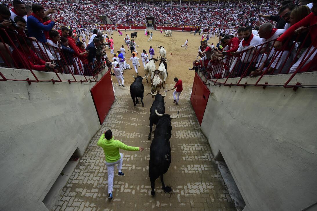 Fiestas españolas de San Fermín: ¿tortura o tradición? GettyImages-81102...