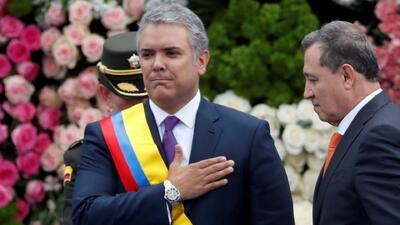 Iván Duque jura como nuevo presidente de Colombia y propone superar mediante el diálogo la polarización