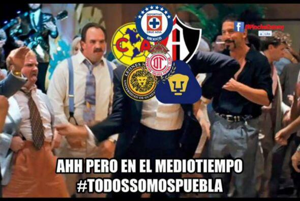 Las redes sociales ocuparon el triunfo de Chivas para burlarse del Puebl...
